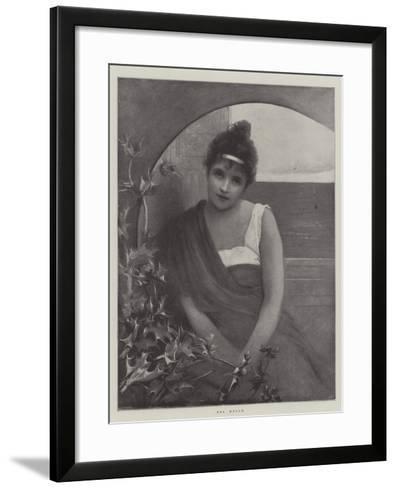 Sea Holly--Framed Art Print