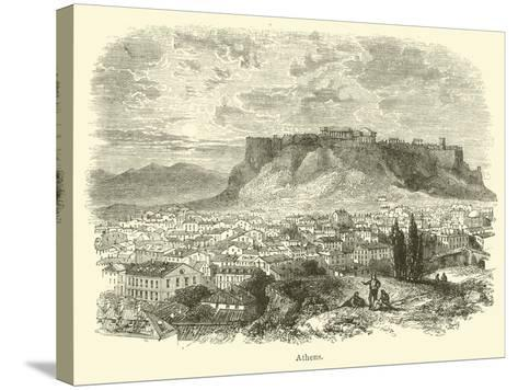 Athens--Stretched Canvas Print