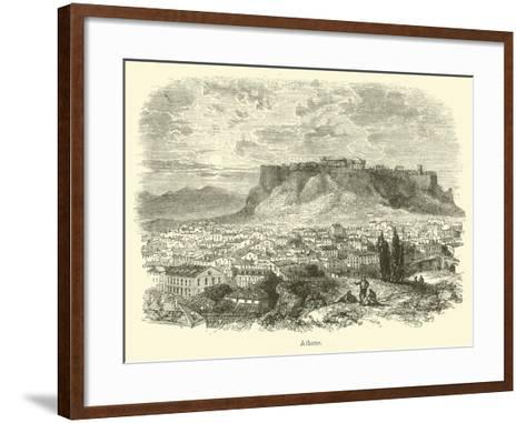 Athens--Framed Art Print
