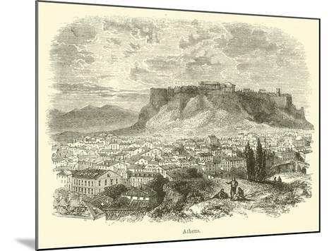 Athens--Mounted Giclee Print