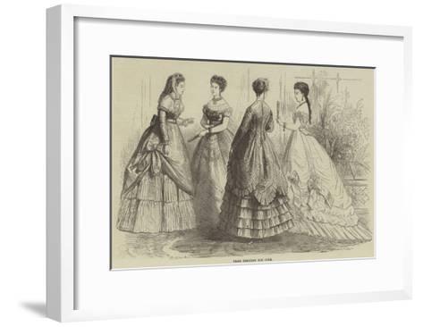 Paris Fashions for June--Framed Art Print
