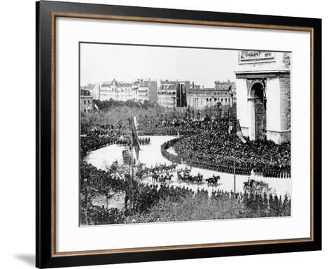 Tsar Nicholas II's Visit to Paris, 1896--Framed Art Print