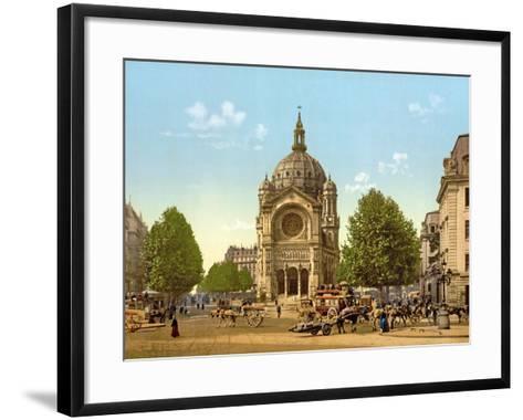 Saint-Augustin, Paris, Pub. C.1900--Framed Art Print