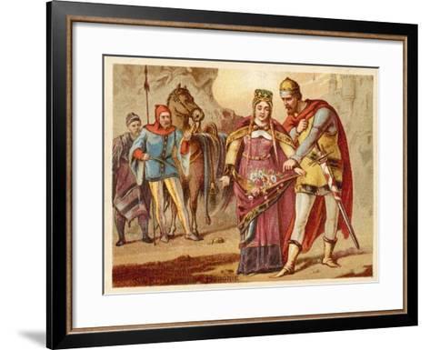 St Elizabeth of Hungary--Framed Art Print