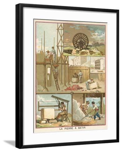 Building Stone--Framed Art Print