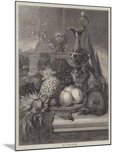 Fruit--Mounted Giclee Print