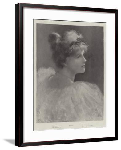 Holly--Framed Art Print