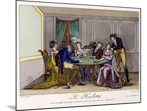 La Bouillotte, C.1810--Mounted Giclee Print