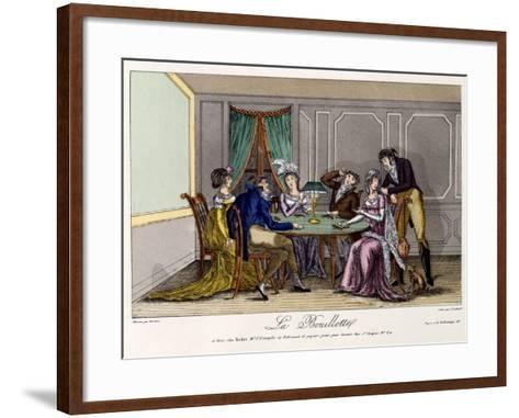 La Bouillotte, C.1810--Framed Art Print