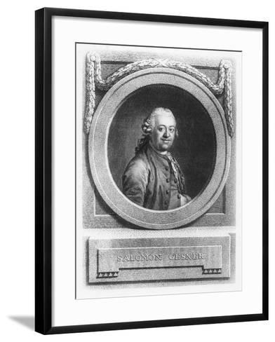 Salomon Gesner--Framed Art Print