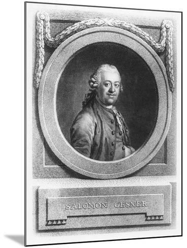 Salomon Gesner--Mounted Giclee Print