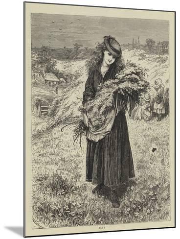 May--Mounted Giclee Print