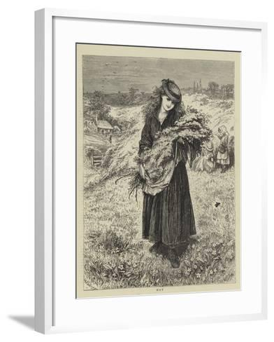 May--Framed Art Print