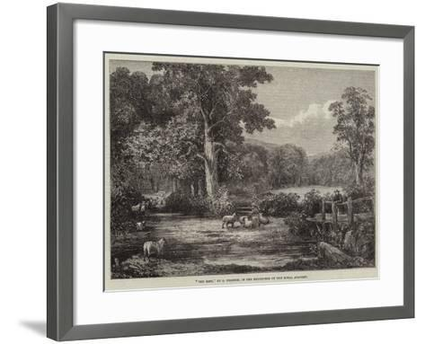 The Rest--Framed Art Print