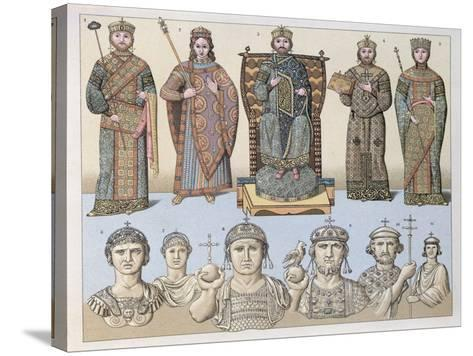 Greeks of Constantinople--Stretched Canvas Print