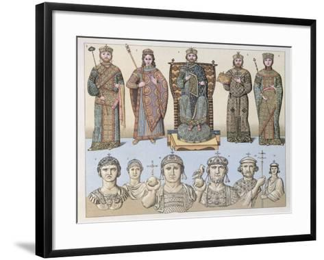 Greeks of Constantinople--Framed Art Print