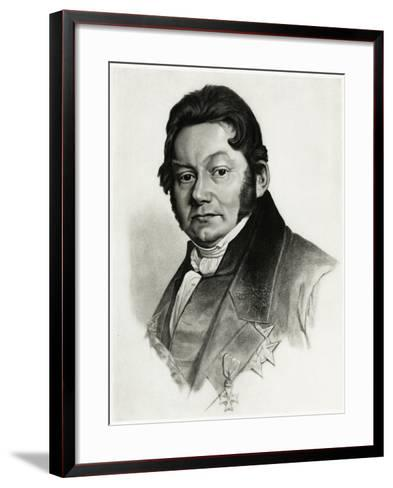 Jöns Jakob Berzelius, 1884-90--Framed Art Print
