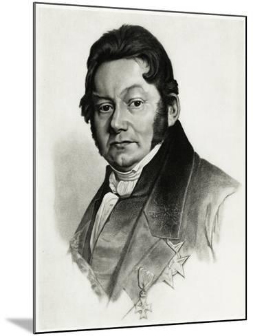 Jöns Jakob Berzelius, 1884-90--Mounted Giclee Print