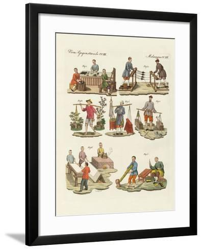 Arts and Handworks in China--Framed Art Print