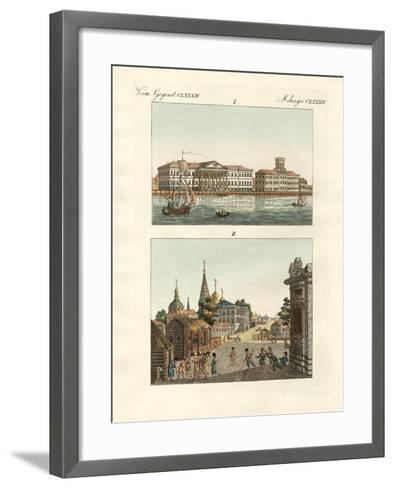 Strange Objects of Russia--Framed Art Print