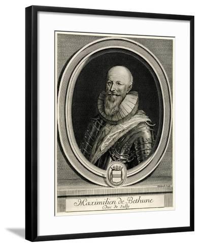 Maximilien Debéthune, 1884-90--Framed Art Print