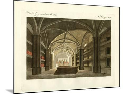 The King's Crypt of Windsor--Mounted Giclee Print