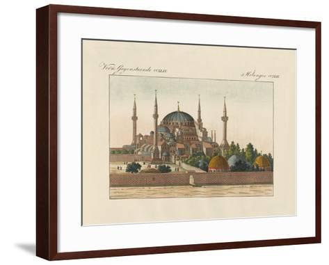 Saint-Sophia Cathedral in Constantinople--Framed Art Print