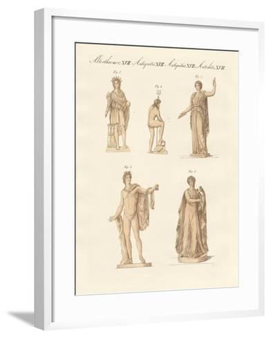 Divinities of the Greeks and Romans--Framed Art Print