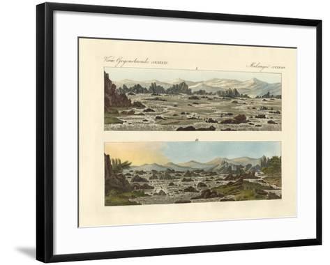 Falls of the Nile at Syene--Framed Art Print
