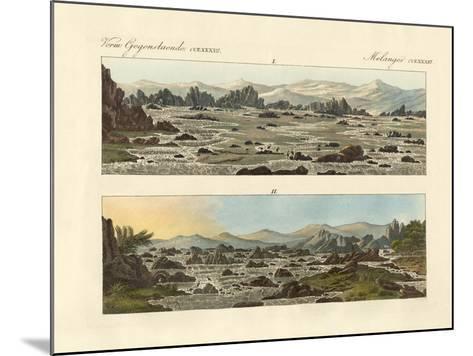 Falls of the Nile at Syene--Mounted Giclee Print