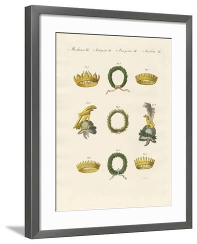 Crowns from the Ancients--Framed Art Print