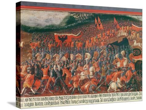 Battle of Kronenberg, Germany in C.1388--Stretched Canvas Print
