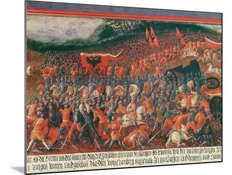 Battle of Kronenberg, Germany in C.1388--Mounted Giclee Print