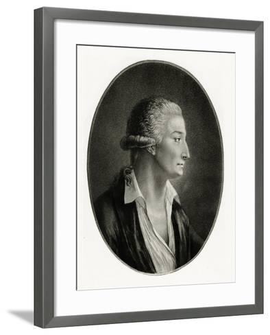 Antoine-Laurent Lavoisier, 1884-90--Framed Art Print