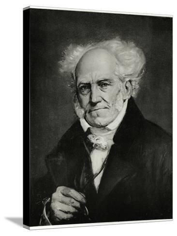 Arthur Schopenhauer, 1884-90--Stretched Canvas Print