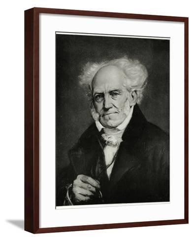 Arthur Schopenhauer, 1884-90--Framed Art Print