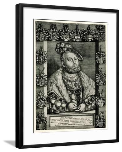 Johann Friedrich I., 1884-90--Framed Art Print