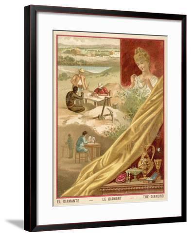 Diamonds--Framed Art Print