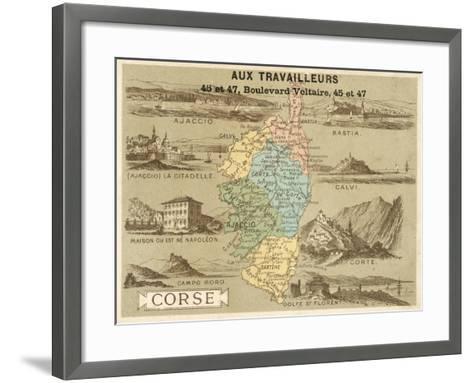 Corsica--Framed Art Print