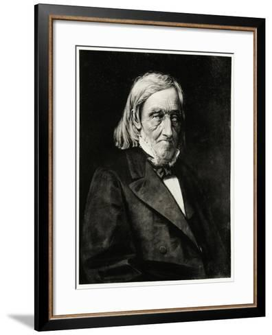Karl Ernst Von Baer, 1884-90--Framed Art Print
