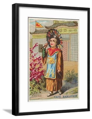China--Framed Art Print