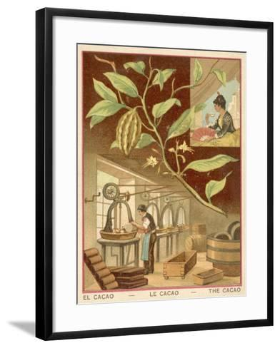 Cocoa--Framed Art Print