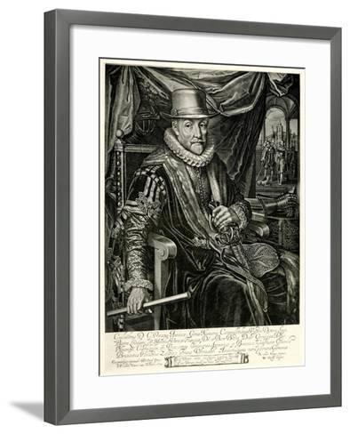 Wilhelm I. Von Nassau-Oranien, 1884-90--Framed Art Print