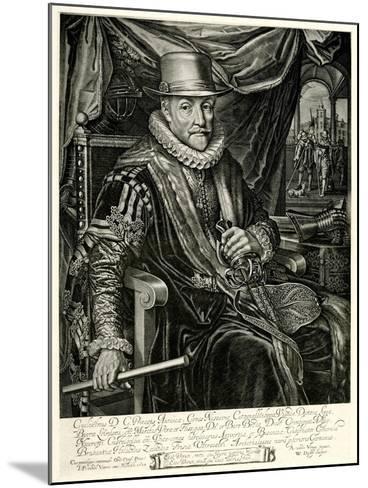 Wilhelm I. Von Nassau-Oranien, 1884-90--Mounted Giclee Print