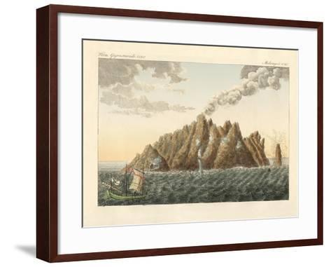 The Volcanic Island of Holy John the Theologian--Framed Art Print
