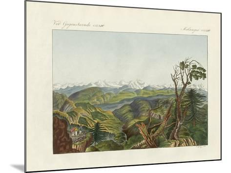 Two Views of the Himalayas--Mounted Giclee Print
