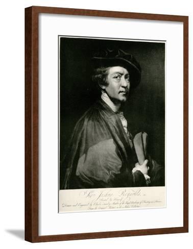 Joshua Reynolds, 1884-90--Framed Art Print