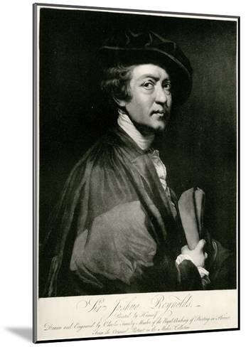 Joshua Reynolds, 1884-90--Mounted Giclee Print