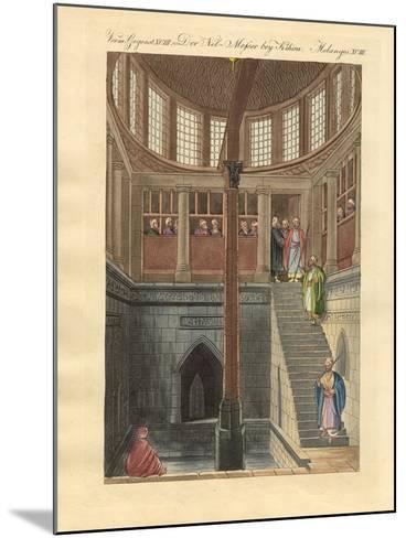The Nilometer on the Island of Rawda Near Cairo--Mounted Giclee Print