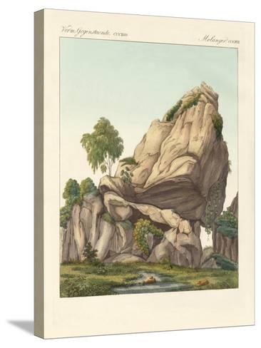 The Supposed Fossilized Reuter of Fontainebleau--Stretched Canvas Print